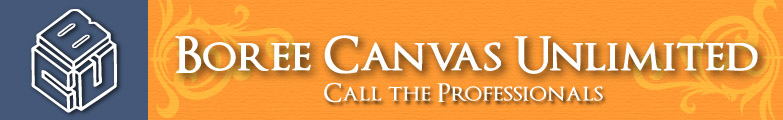 Boree Canvas Unlimited Logo and top banner.